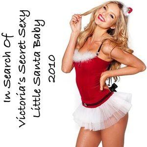 ISO Victoria's Secret Santa Baby Costume